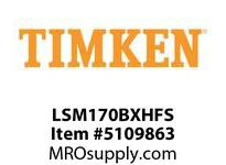 TIMKEN LSM170BXHFS Split CRB Housed Unit Assembly