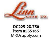 Linn-Gear OC225-2X.750 DRIVE SAVER OVERLOAD CLUTCH  H1