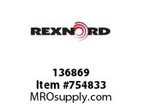 REXNORD 136869 730051040301 5 HCB 1.2500 BORE NSKWY