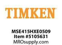 TIMKEN MSE415HXE0509 Split CRB Housed Unit Component