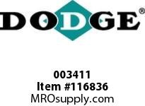 DODGE 003411 PX100 FBX 2-11/16 FLG ASSEMBLY