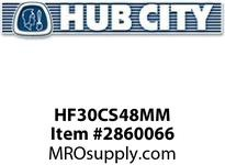 HUB CITY HF30CS48MM HF30 HUB 48MM HUBFLEX Coupling Component