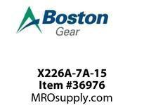 BOSTON 24312 X226A-7A-15 STL GR-HEL/PIN/SH
