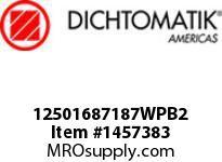 Dichtomatik 12501687187WPB2 WIPER
