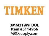 TIMKEN 3MM219WI DUL Ball P4S Super Precision