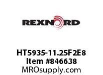 REXNORD HT5935-11.25F2E8 HT5935-11.25 F2 T8PN2.625 HT5935 11.25 INCH WIDE MATTOP CHAIN