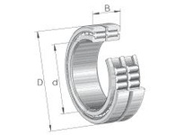 INA SL185016 C3 Cylindrical roller bearing-full com