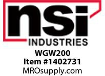 NSI WGW200 WIRE GUARD FOR COMPACT WALL PACK
