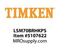 TIMKEN LSM70BRHKPS Split CRB Housed Unit Assembly
