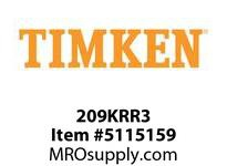 TIMKEN 209KRR3 Ball Deep Groove Radial <12 OD