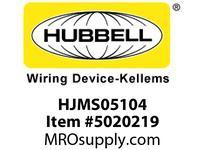 HBL_WDK HJMS05104 MINIQCK JUMPER 5P 16/5 4