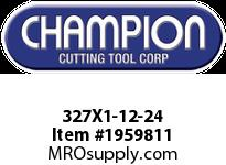 Champion 327X1-12-24 CARBON ROUND DIE STOCK ADJ