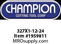 Champion 327X1-12-24 CARBON ROUND DIE STOCK ADJ