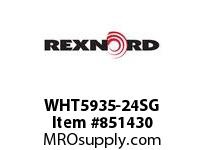REXNORD WHT5935-24SG WHT5935-24 S1 N.93 WHT5935-24 INCH WITH SIDEGUARDS BOT