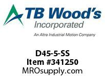 TBWOODS D45-5-SS FLEX DISC SS