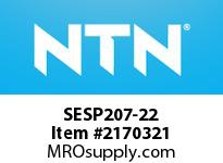 NTN SESP207-22 Mounted Units (Stainless)