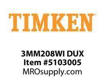 TIMKEN 3MM208WI DUX Ball P4S Super Precision