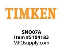 TIMKEN SNQ07A Split CRB Housed Unit Component