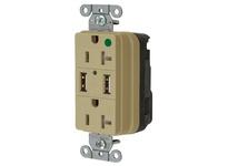 HBL_WDK SNAP8300USBI USB CHGR SNAP HG 20A125V DUP 3A5V PT IV