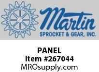 Martin Sprocket PANEL DISPLAY60X20X80