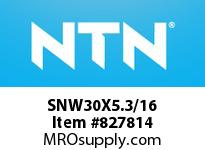 NTN SNW30X5.3/16 BRG PARTS(ADAPTERS)