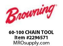 Morse 2360972 60-100 CHAIN TOOL CHAIN TOOLS