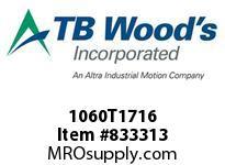 TBWOODS 1060T1716 1060TX1-7/16 G-FLEX HUB