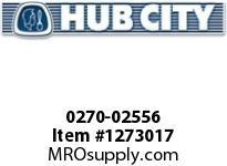HubCity 0270-02556 GW6007 50/1 WR