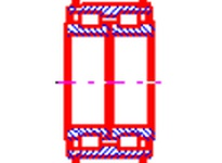 NTN SL04-5017NR CYLINDRICAL ROLLER BRG