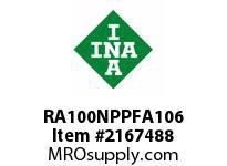 INA RA100NPPFA106 Round flanged unit