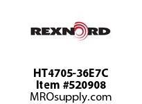REXNORD HT4705-36E7C HT4705-36 E7-1/4D 152797