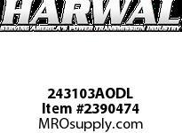 Harwal 243103AODL 24 x 31 x 03AODL NBR