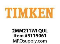 TIMKEN 2MM211WI QUL Ball P4S Super Precision