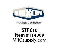 """DIXON STFC16 STRAIGHT THRU CPLR X 2"""" F.NPT"""