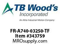 TBWOODS FR-A740-03250-TF CTINV.250HP(ND) 200HP(HD)480V