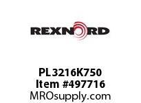 PL3216K750 HOUSING PL3-216K75-0 5867973