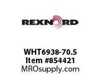 REXNORD WHT6938-70.5 WHT6938-70.5 WHT6938 70.5 INCH WIDE MATTOP CHAIN