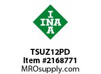 INA TSUZ12PD Linear shaft support rail