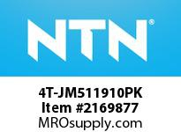 NTN 4T-JM511910PK Medium Size TRB 101.6<D<=203.2