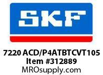 SKF-Bearing 7220 ACD/P4ATBTCVT105