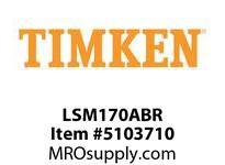 TIMKEN LSM170ABR Split CRB Housed Unit Component