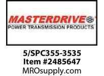 MasterDrive 5/SPC355-3535 5 GROOVE SPC SHEAVE