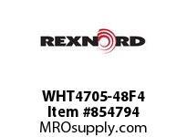 REXNORD WHT4705-48F4 WHT4705-48 F2 T4P WHT4705 48 INCH WIDE MATTOP CHAIN W