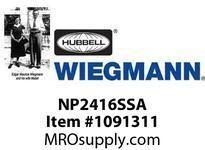 WIEGMANN NP2416SSA PANELSS31621^ X 17^