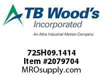 TBWOODS 725H09.1414 MULTI-BEAM 09 4MM--4MM