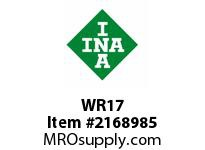 INA WR17 Snap ring shaft