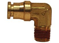 DIXON AQ69DOT6X4 BRASS DOT MALE ELBOW 3/8 X 1/4