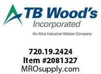 TBWOODS 720.19.2424 MULTI-BEAM 19 1/4 --1/4