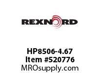 REXNORD HP8506-4.67 HP8506-4.66 143598