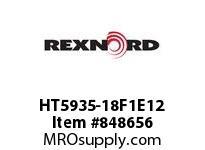 REXNORD HT5935-18F1E12 HT5935-18 F1 T12P N.75 HT5935 18 INCH WIDE MATTOP CHAIN WI